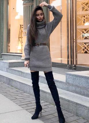 Sl.ira платье свитер туника шерсть альпака