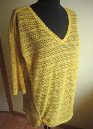 Ажурная блуза-туника от next