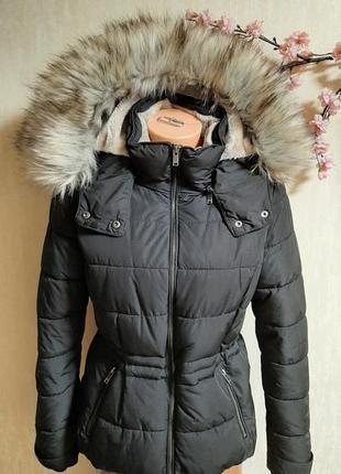 Теплая куртка only с мехом❄❄❄