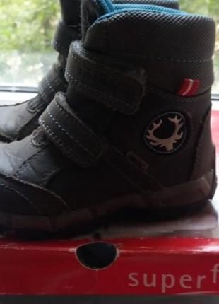 Термо ботинки superfit 25 р.