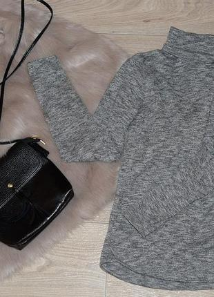 Серый гольф джемпер кофта bershka