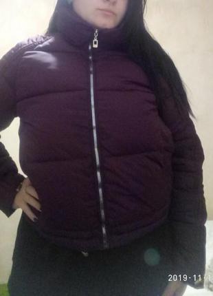 Женская зимняя курточка, 44,46 размеры