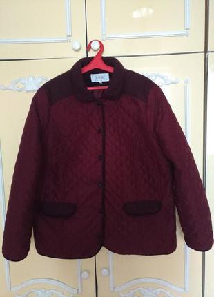 Куртка стеганная на синтепоне демисезон