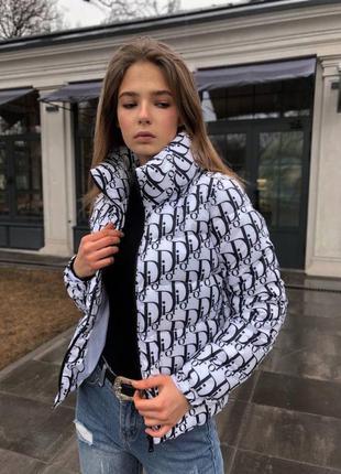 Женская куртка  белая демисезонный
