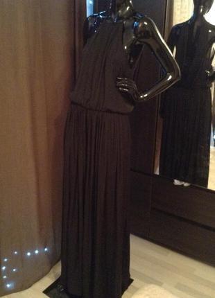 Длинное шикарное платье zara