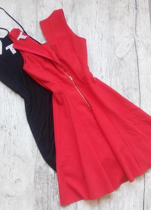 Невероятное  платье алого цвета h&m 💔
