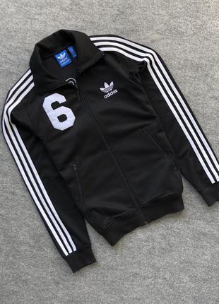 Неперевершена олімпійка від адідас, adidas originals beckenbauer track jacket black