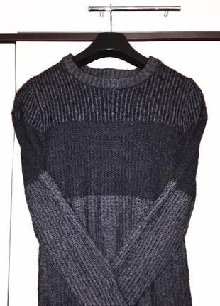 Тёплый свитер с шерстью