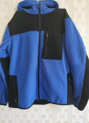 Флисовая куртка,ветровка ,можно для спорта,бега, размер с-м, смотрите замерчики.