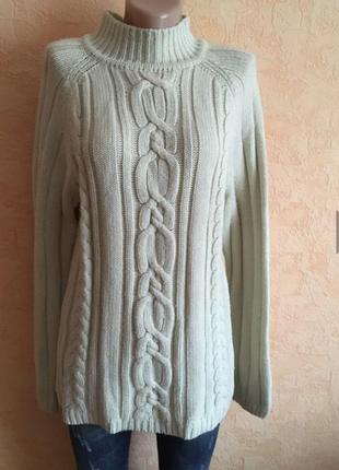 Большой выбор одежды до 100грн/ толстый тёплый свитер р44-46