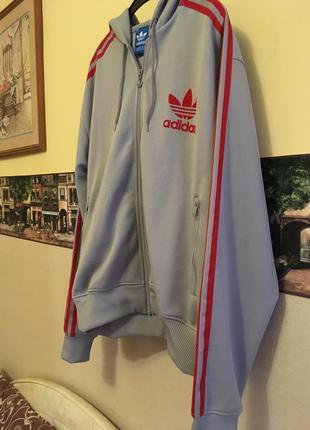 Спортивная кофта с капюшоном adidas