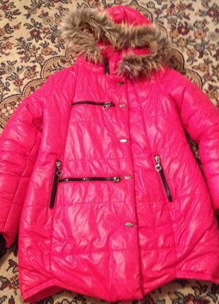 Зимняя курточка пальто пуховик