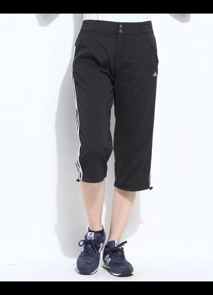 Черные  брюки,шорты, бриджи женские фирмы adidas climalite.