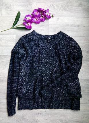 Теплый свободный свитер jennyfer.