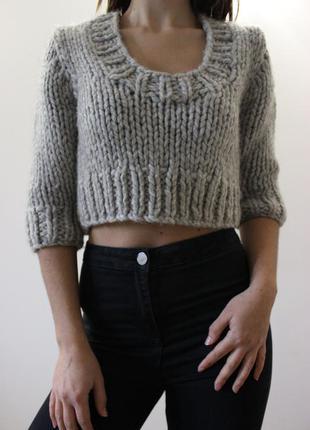 Классный короткий свитерок