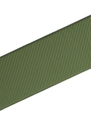 Самонадувающийся коврик terra incognita camper 3.8 (green)