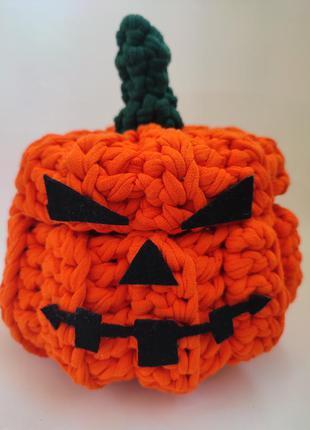 Тыква, конфетница , хэллоуин