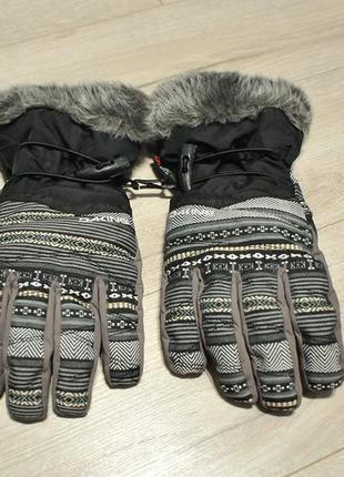 Жіночі рукавиці перчатки лижі сноуборд dakine alero - l - 7.5