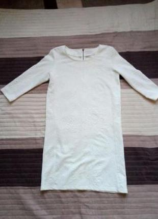Белое платье vero moda