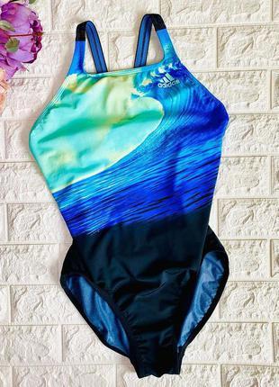 Купальник для басейну спортивний нереальних кольорів
