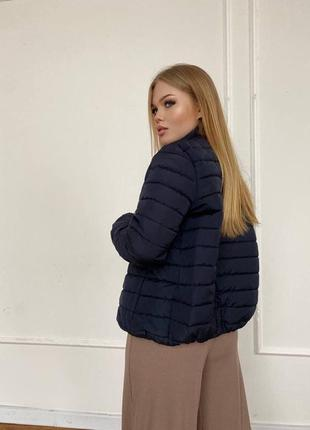 Курточка стеганная на кнопках