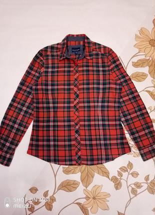 Стильна сорочка, рубашка в клетку (m, s)