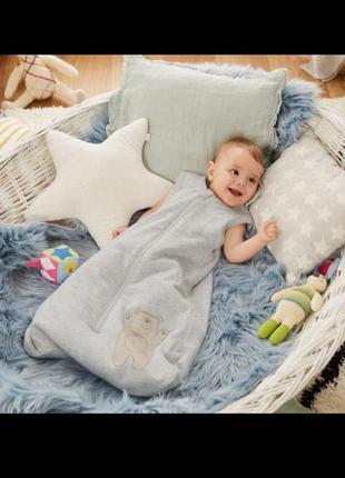 Спальный мешок от немецкого бренда lupilu на рост 110 cм (18-36 месяцев)