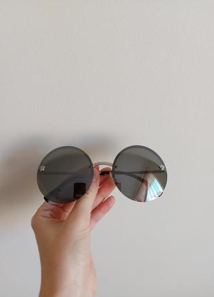 Солнцезащитные очки  versace  оригинал круглые  люкс