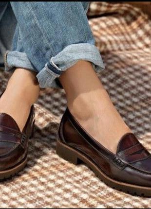 Скидка при доставке meest  туфли лоферы натуральная кожа timberland оригинал