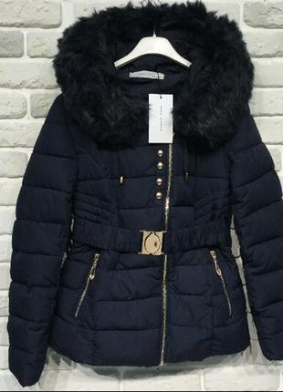 Теплая курточка zara