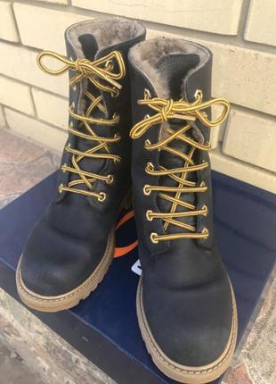 Зимние ботинки gallucci{ италия}