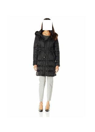 Элегантное зимнее брендовое пальто, размер l