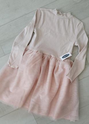 Платье old navy 5т с фатинои