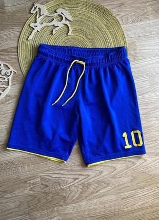 Спортивні шортики, спортивные шорты на 10-12 лет h&m