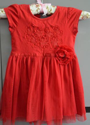 Красивое нарядное платье от некст