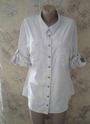 Удлиненная рубашка рубашка-платье  nomad американская стильное шикарное на пуговицах оригинал 100% нейлон  из натуральной ткани плащевка