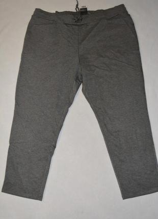 Мега батал !!! женские серые брюки большого размера 60-62 esmara германия