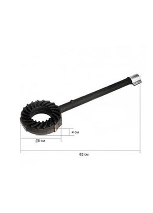 Горелка для газовой плиты gb-23 62 см 70522