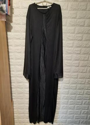 Платье чёрное, хеллоуин, монахиня, монашка