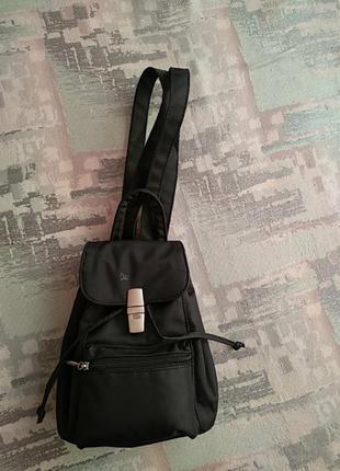 Daniel ray - оригинал. качественный, вместительный рюкзачок чёрного цвета.