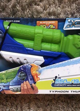 Zuru x -shot водний бластер medium typhoon thunder