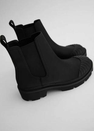 Стильные ботинки zara зара деми р.40 и 41