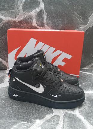 Подростковые зимние кроссовки nike air force