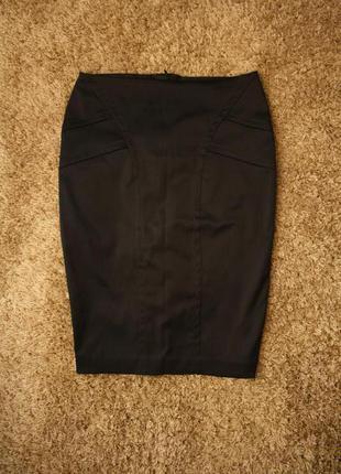 Качественная плотная юбка карандаш