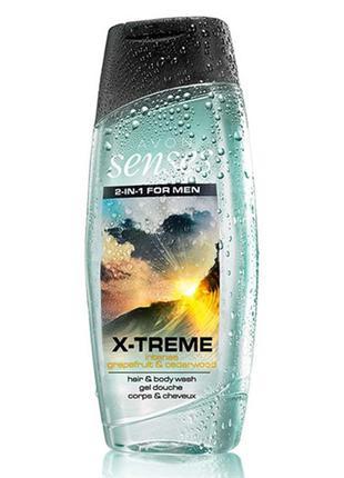 Шампунь-гель для душан с дезодорирующим эффектом «экстрим», 500 мл