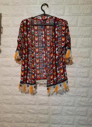 Карнавальный элемент костюма индейца, накидка индейки, нюанс
