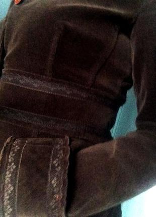Жакет, пиджак вельветовый
