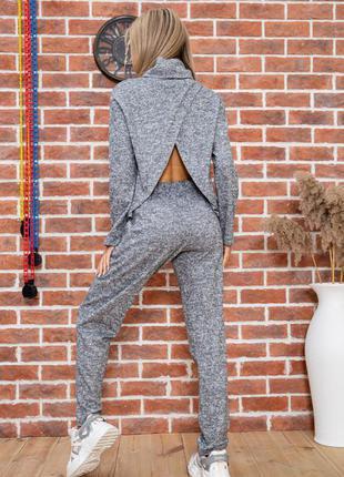 Абалденный ангора оверсайз костюм эффектный 2 цвета