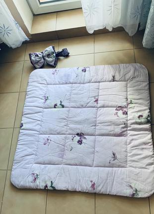 Новый красивый зимний конверт- одеяло для девочки