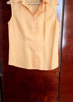Рубашка женская без рукавов biaggini